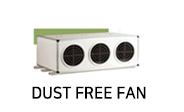dust free fan